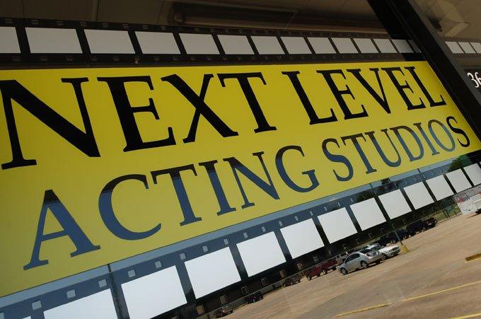 Houston Next Level Acting Studio Outdoor Sign